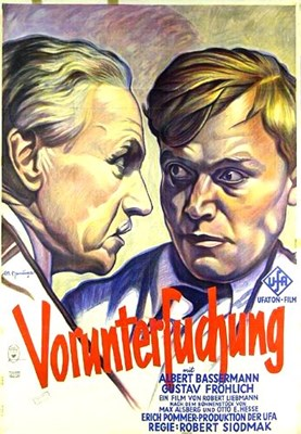 Picture of VORUNTERSUCHUNG  (1931)  * with switchable English subtitles *
