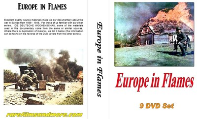 Bild von 9 DVD SET:  EUROPE IN FLAMES (1940-1942) HIGH QUALITY