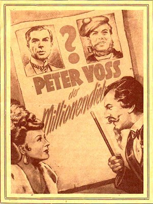 Picture of PETER VOSS – DER MILLIONENDIEB  (1945)