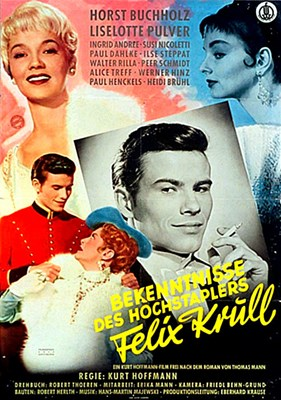 Picture of BEKENNTNISSE DES HOCHSTAPLERS FELIX KRULL  (1957)  * with switchable English subtitles *