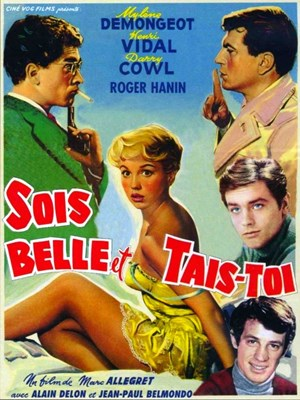 Picture of SOIS BELLE ET TAIS-TOI  (1958)  * with hard-encoded English subtitles *