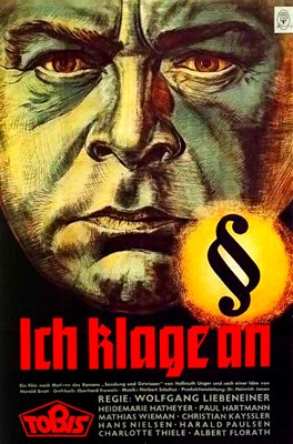 Picture of ICH KLAGE AN (I Accuse) (1941) + ERBKRANK (The Hereditary Defective) (1936)  *with switchable English subtitles*