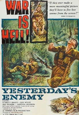 Bild von YESTERDAY'S ENEMY  (1959)  * with switchable English and Spanish subtitles *