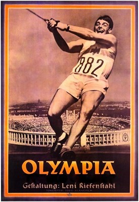 Picture of 2 DVD SET:  OLYMPIA - PARTS I & II  (1936)   *with switchable English subtitles*