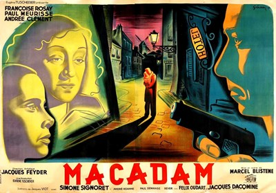 Bild von BACK STREETS OF PARIS (Macadam) (1946)  * with switchable English subtitles *