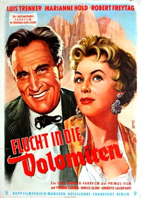 Picture of FLUCHT IN DIE DOLOMITEN  (1955)