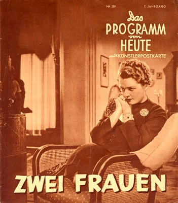 Picture of ZWEI FRAUEN  (1938)  * with hard-encoded Dutch and French subtitles *