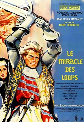 Picture of LE MIRACLE DES LOUPS (The Miracle of the Wolves)  (1961)  * with switchable English subtitles *