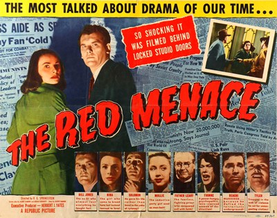 Picture of THE RED MENACE (Underground Spy) (1949)
