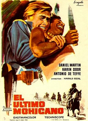 Bild von DER LETZTE MOHIKANER  (The Last Tomahawk)  (1965)  * with switchable English and German audio tracks *