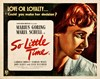 Picture of SO LITTLE TIME  (1951)