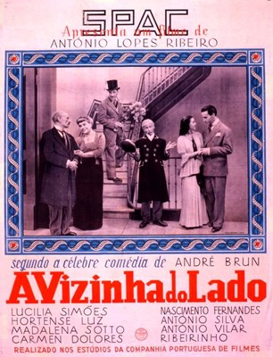 Picture of THE GIRL NEXT DOOR  (A Vizinha do Lado)  (1945)   * with multiple, switchable subtitles *