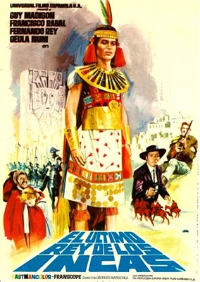 Bild von KARL MAY:  LEGACY OF THE INCAS  (1965)