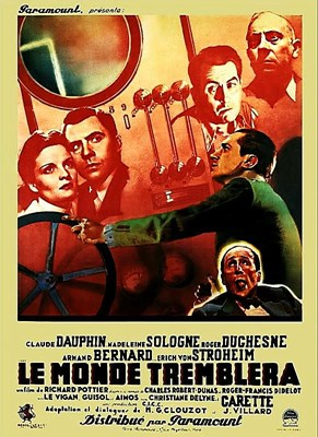 Picture of LE MONDE TREMBLERA  (The World will shake)  (1939)  * with switchable English subtitles *