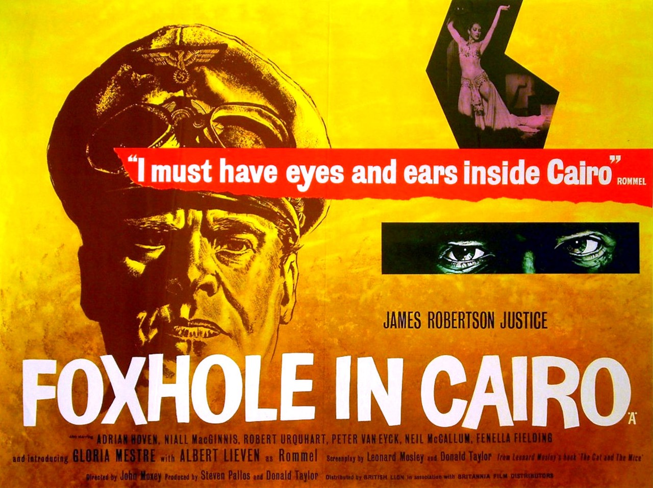 War Movie - Foxhole in Cairo (1960)
