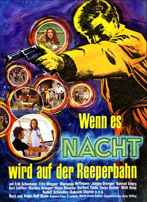 Picture of WENN ES NACHT WIRD AUF DER REEPERBAHN  (1967)  * with switchable English subtitles *