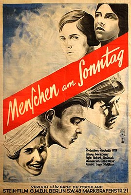 Bild von MENSCHEN AM SONNTAG (People on Sunday) (1930)  *with switchable English subtitles*
