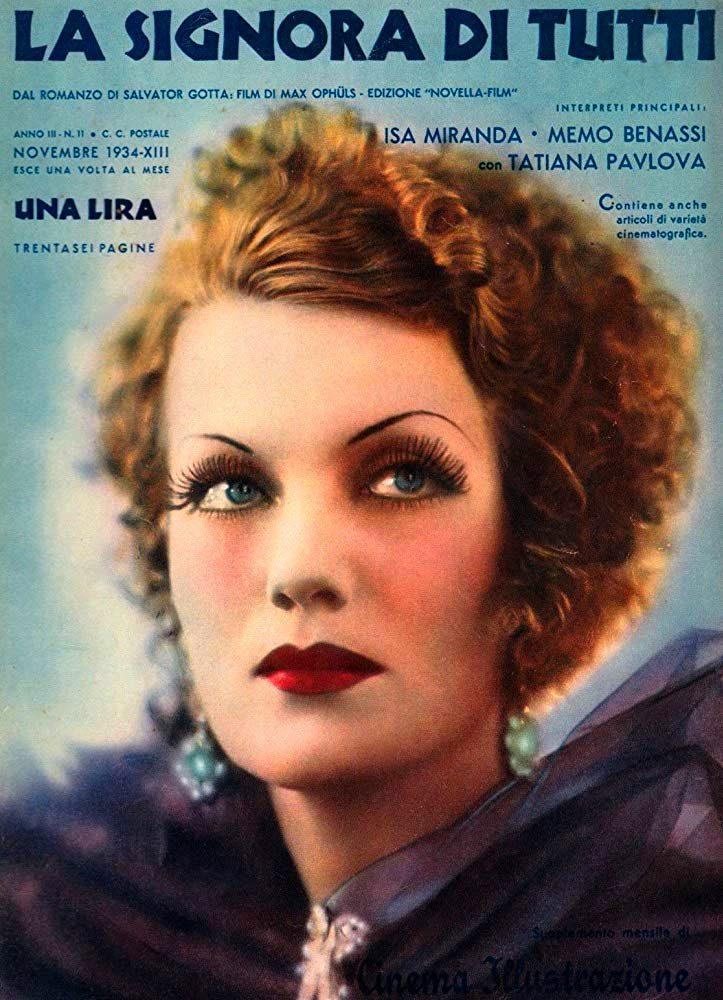 RAREFILMSANDMORE.COM. LA SIGNORA DI TUTTI ( Everybody's Woman ...