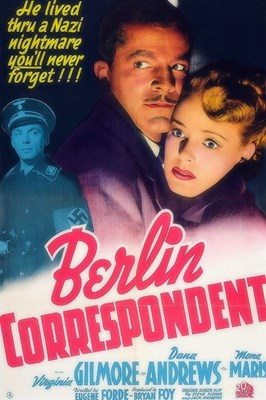 Picture of BERLIN CORRESPONDENT  (1942)  * with switchable Spanish subtitles *
