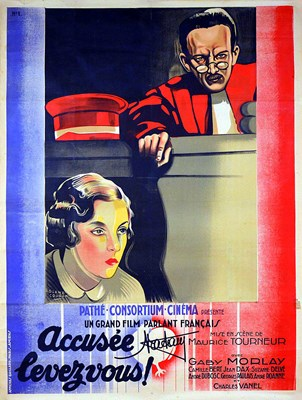 Picture of DEFENDANT, PLEASE RISE  (Accusée... levez-vous!)  (1930)  * with switchable English subtitles *