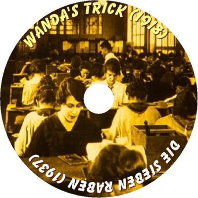 Picture of WANDAS TRICK  (1918)  +  DIE SIEBEN RABEN  (1937)  * with switchable English subtitles *