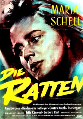 Picture of DIE RATTEN  (1955)  * with switchable English subtitles *