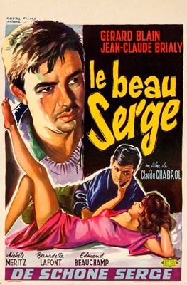 Picture of HANDSOME SERGE  (le beau Serge)  (1958)  * with switchable English subtitles *