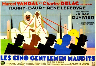 Bild von MOON OVER MOROCCO  (Les cinq gentlemen maudits)  (1931)  * with switchable English subtitles *