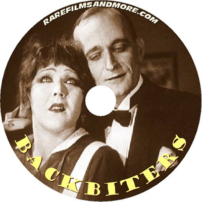Picture of BACKBITERS  (une Vie sans Joie) (Catherine) (1924)  * with switchable English and Spanish subtitles *