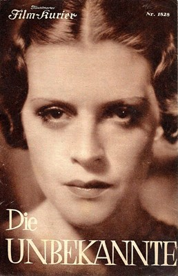 Picture of DIE UNBEKANNTE (The Unknown) (1936)  * with switchable English subtitles * - AUDIO PROBLEMS