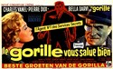 Picture of THE MASK OF THE GORILLA  (Le Gorille vous salue bien)  (1958)  * with switchable English subtitles *