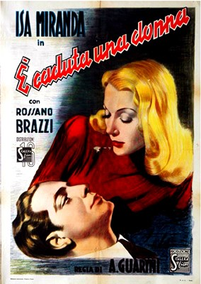 Picture of É CADUTA UNA DONNA (A Woman Has Fallen) (1941)  * with switchable English subtitles *