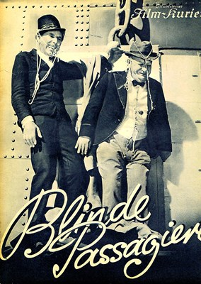 Picture of BLINDE PASSAGIERE  (1936)