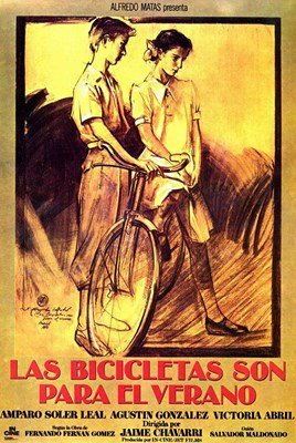Picture of LAS BICICLETAS SON PARA EL VERANO  (Bicycles are for the Summer)  (1984) * with switchable English subtitles *