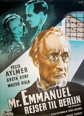 Bild von TWO FILM DVD:  MURDER ON THE BLACKBOARD  (1934)  +  MR EMMANUEL  (1944)