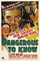 Bild von TWO FILM DVD:  DANGEROUS TO KNOW  (1938)  +  DOCTORS' WIVES  (1931)