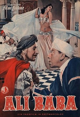 Picture of ALI BABA AND THE FORTY THIEVES  (1954)  * with French/Spanish audio and switchable English, French and Spanish subtitles *